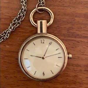 Forever 21 Jewelry - Timepiece Long Accent Necklace